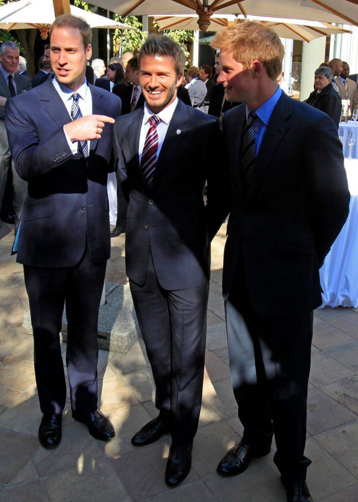príncipe Harry duques de Sussex Beckham Meghan Markle