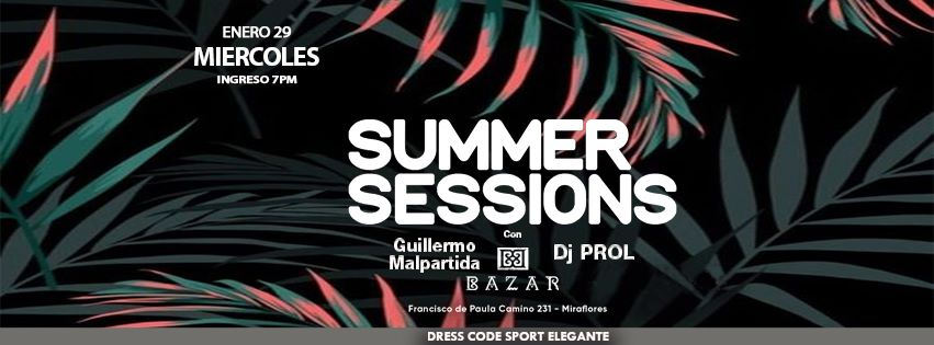 summer sessions evento