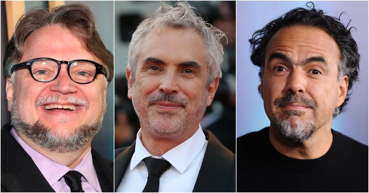 Del Toro, Cuarón y González Iñárritu