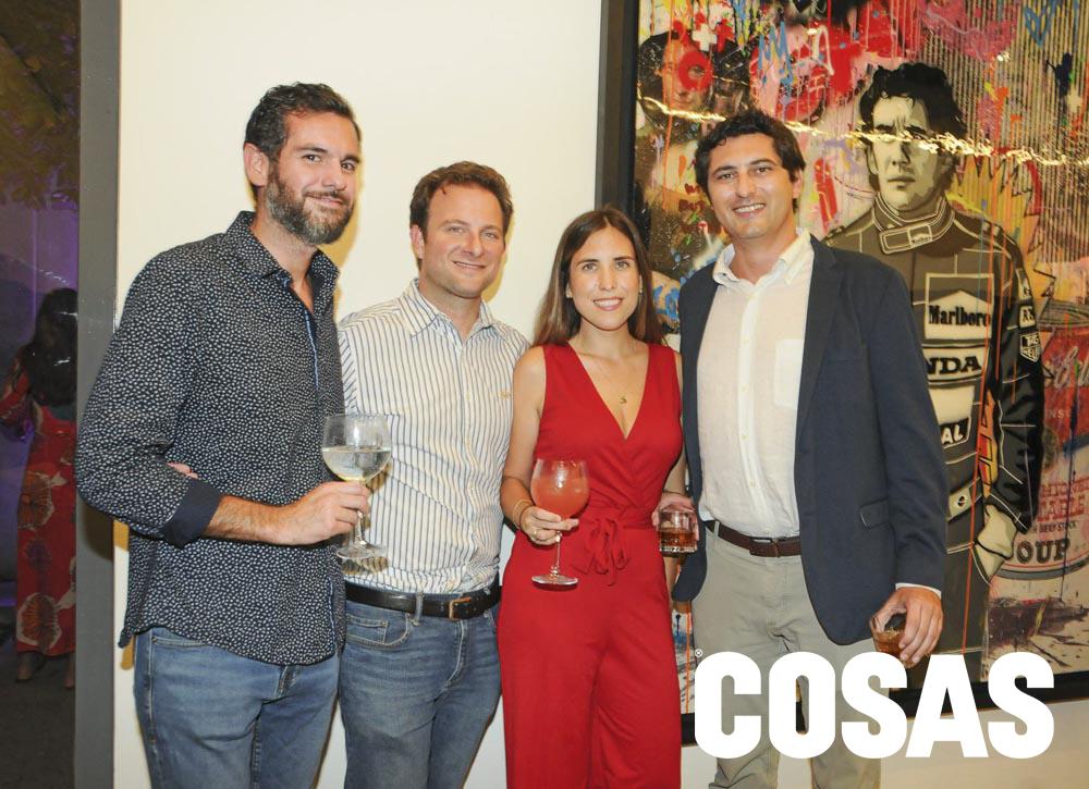 Alan García Nores, Diego Rosselló, Janice Rooth y Luis Alfaro