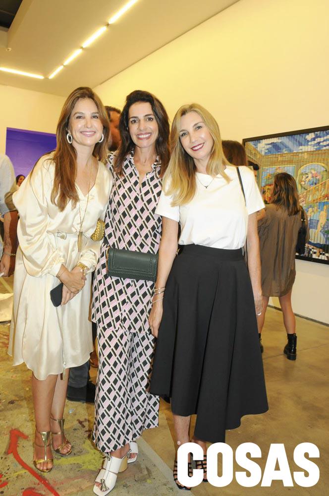 Marian Correa, Karen Mitre y Bea Forero