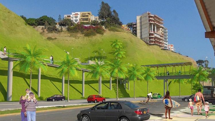 Bajada de Baños Costa Verde