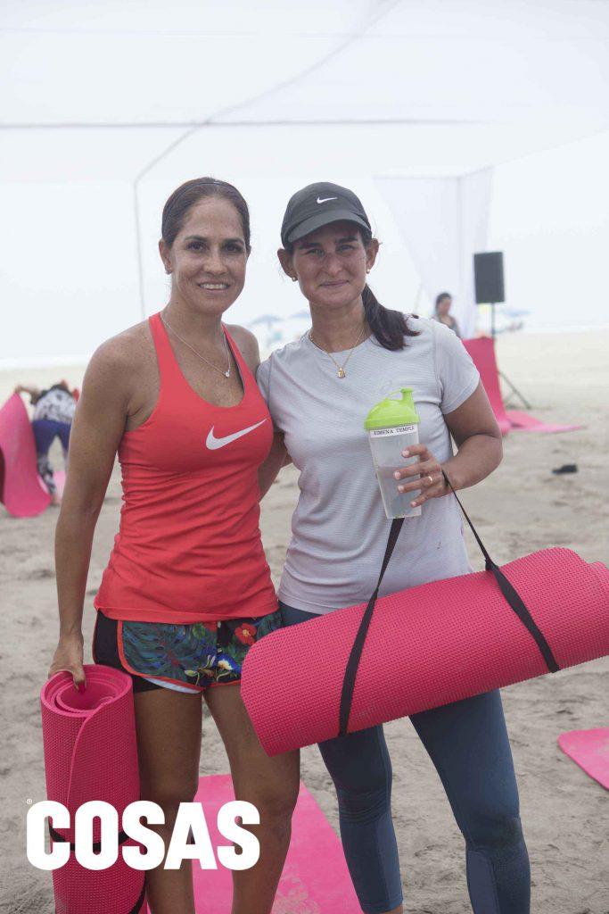 Claudia Castro y Ximena Temple