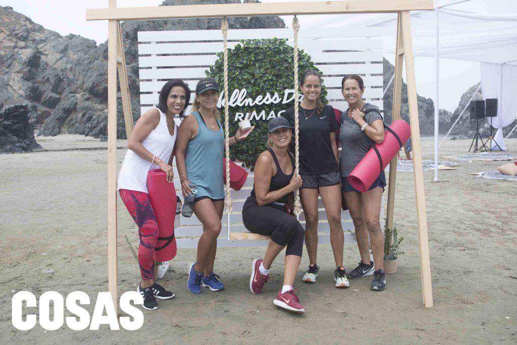Claudia Ramírez, Ana Lucía Bacigalupo, María Graciela Hernández, Ana Paula Carneiro y Verónica Marca