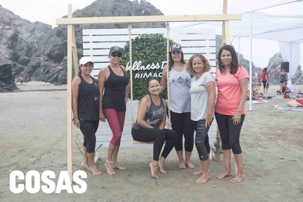 Melissa Soberón, Gisela Pelaez, Paola Costa, Mariana Sánchez, Paola Gonzales y Chela Rojas