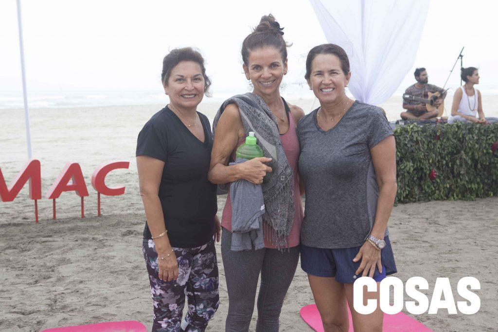 Nati del Águila, Maritza Parodi y Verónica Marca