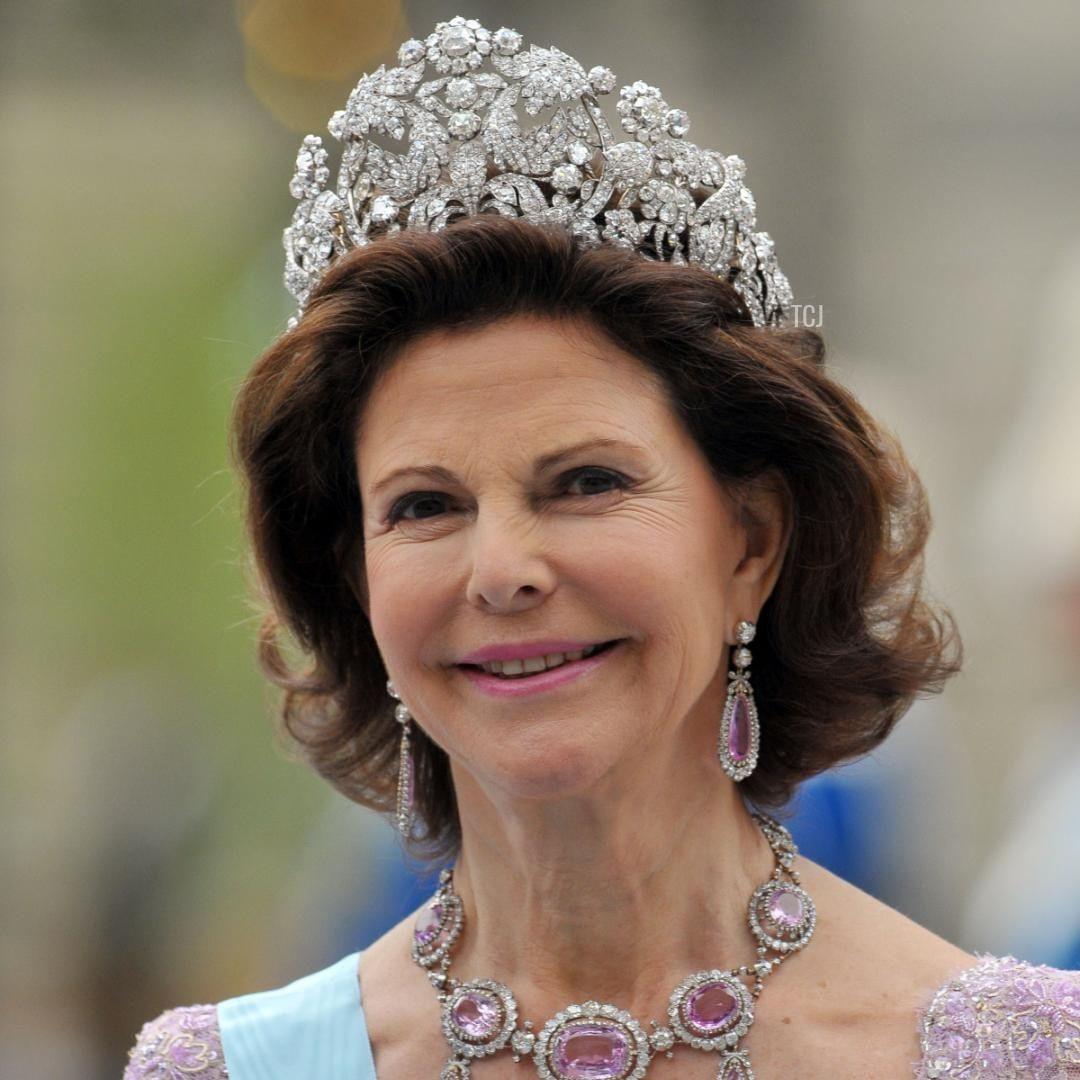 Tiara de Braganza Reina Silvia
