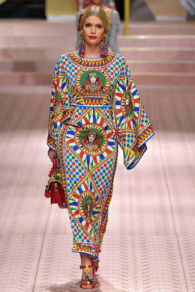 Lady Kitty Spencer Pasarelas Dolce & Gabbana