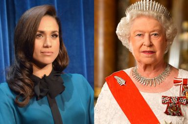 Meghan Markle y reina Elizabeth II