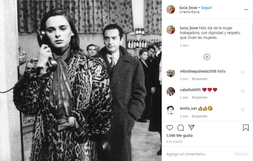 Lucía Bosé Instagram