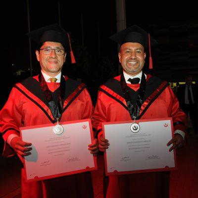 Christian Cerna y Manuel Chiri.