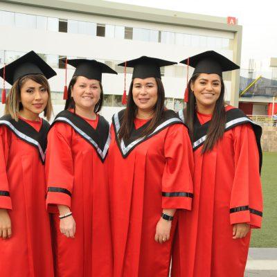 Vanessa Vera, Rossana Rojas, Sofía Bertran y Brenda Dioses.