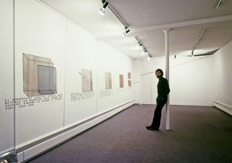 Rafael Hastings Galería Yvon Lambert, París, 1970