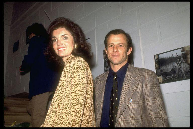 Peter Beard y Jackie Kennedy