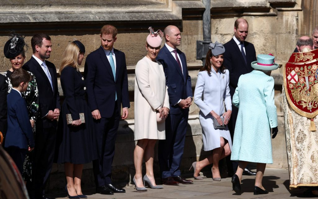 pascuas familia real