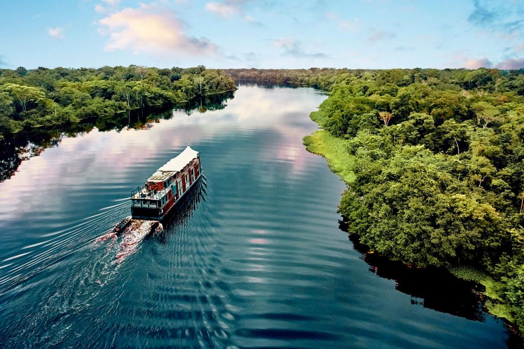 Aria Amazon Cruise, turismo