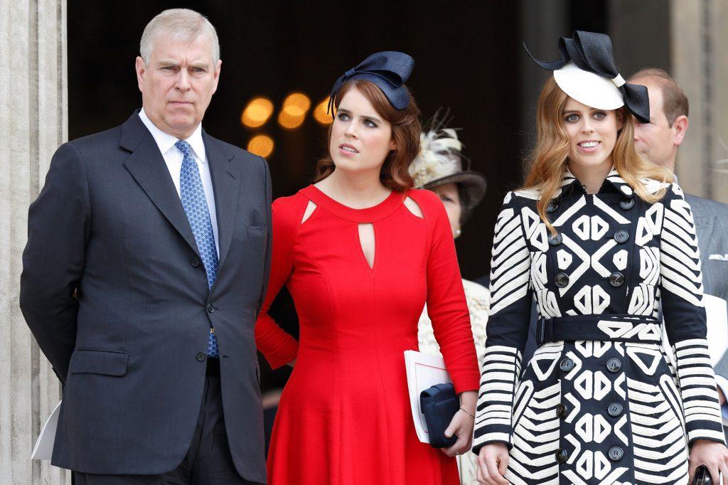 Princesas de York y el príncipe Andrew