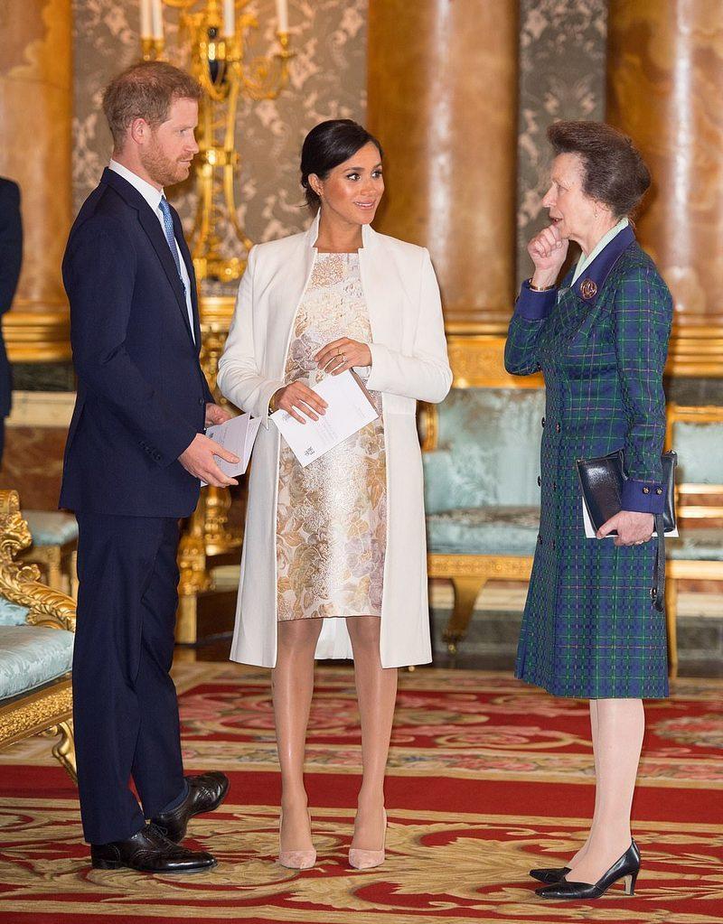 princesa Anne príncipe Harry 1