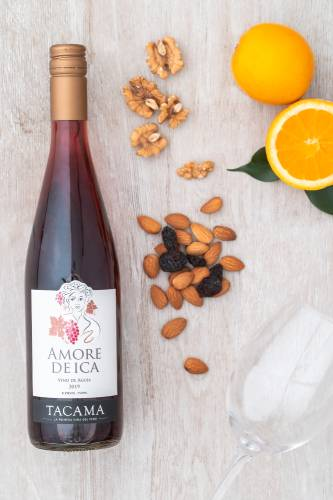 Amore D'Ica vinos paladar femenino Tacama