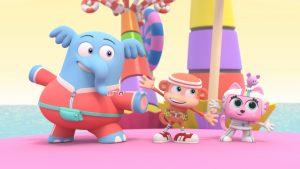 estreno Chico Bon Bon- Un mono con herramientas