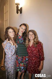 Camila Toro, Giuliana Weston y Sofía Mulanovich
