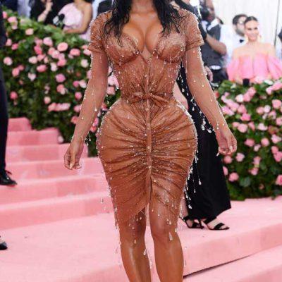 Kim Kardashian Alfombra Rosa Met Gala