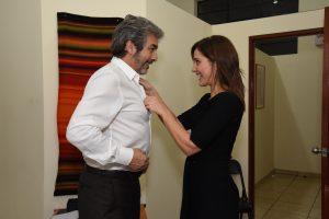 Los actores Ricardo Darín y Érica Rivas