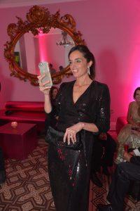 Caudia Morelli, en la 1ra Gala MATE, 2015.