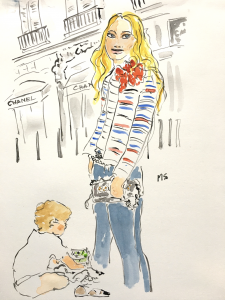 Ana Beliza Mamá Estilo Chanel