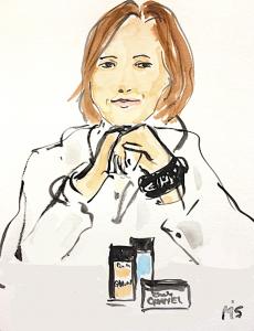 Toni Salamanca madre estilo  Chanel