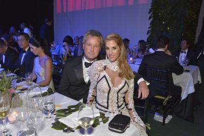 Gonzalo Gulman y Verónica Marsano en la 2nda Gala MATE, 2016.