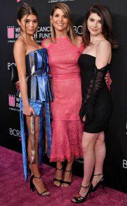 Lori Loughlin y sus hijas Belle y Jade