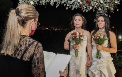 Daritza Araya y Alexandra Quirós matrimonio gay en Cosa Rica