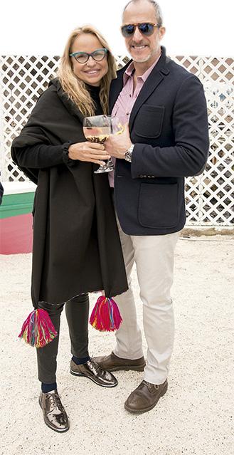Nelly García y Julio Odiaga