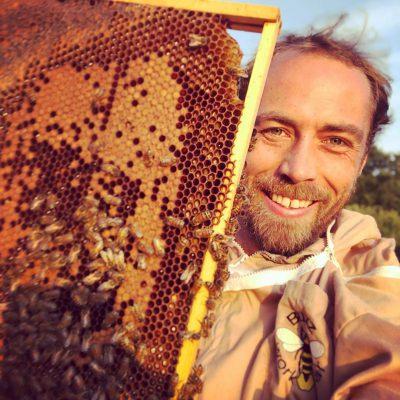 James Middleton duquesa de Cambridge abejas (1)