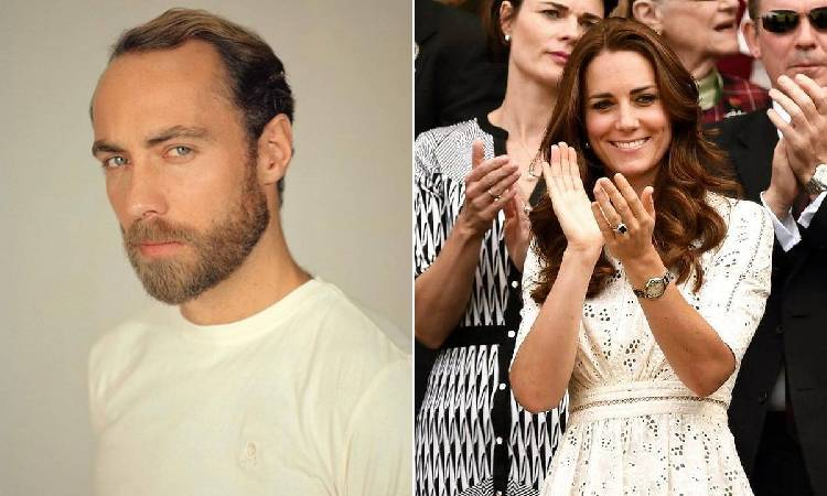 James Middleton duquesa de Cambridge