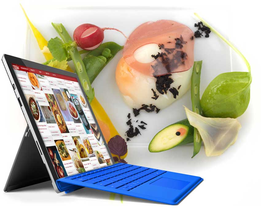 Le Cordon Bleu laptop
