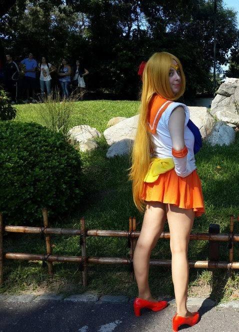 Melinavenus as Super Sailor Venus