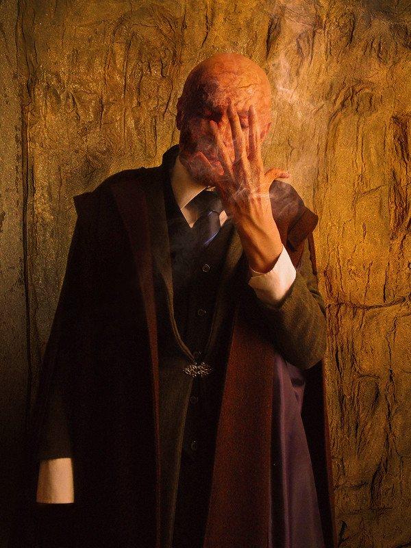 Professor Quirrell's Death