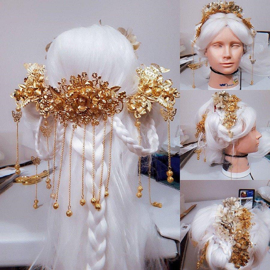 Amaterasu Wig WIP