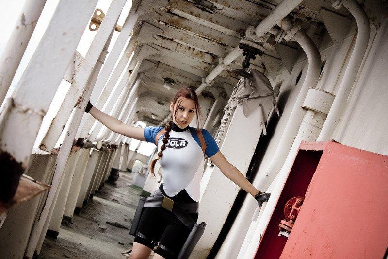 Lara Croft SOLA swimsuit