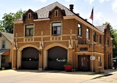 Fire Station #4 in 2019