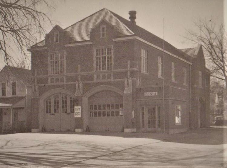 Fire Station #4 circa 1930