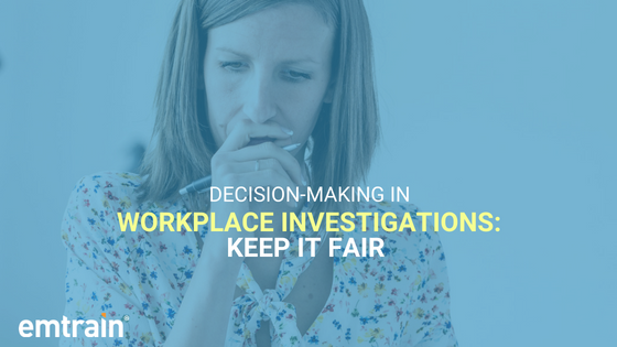 Remove unconscious bias from your workplace investigations