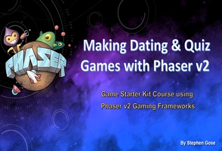 Making Dating & Quiz Browser Games with Phaser v2