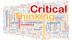 Critical Thinking in Global Challenges