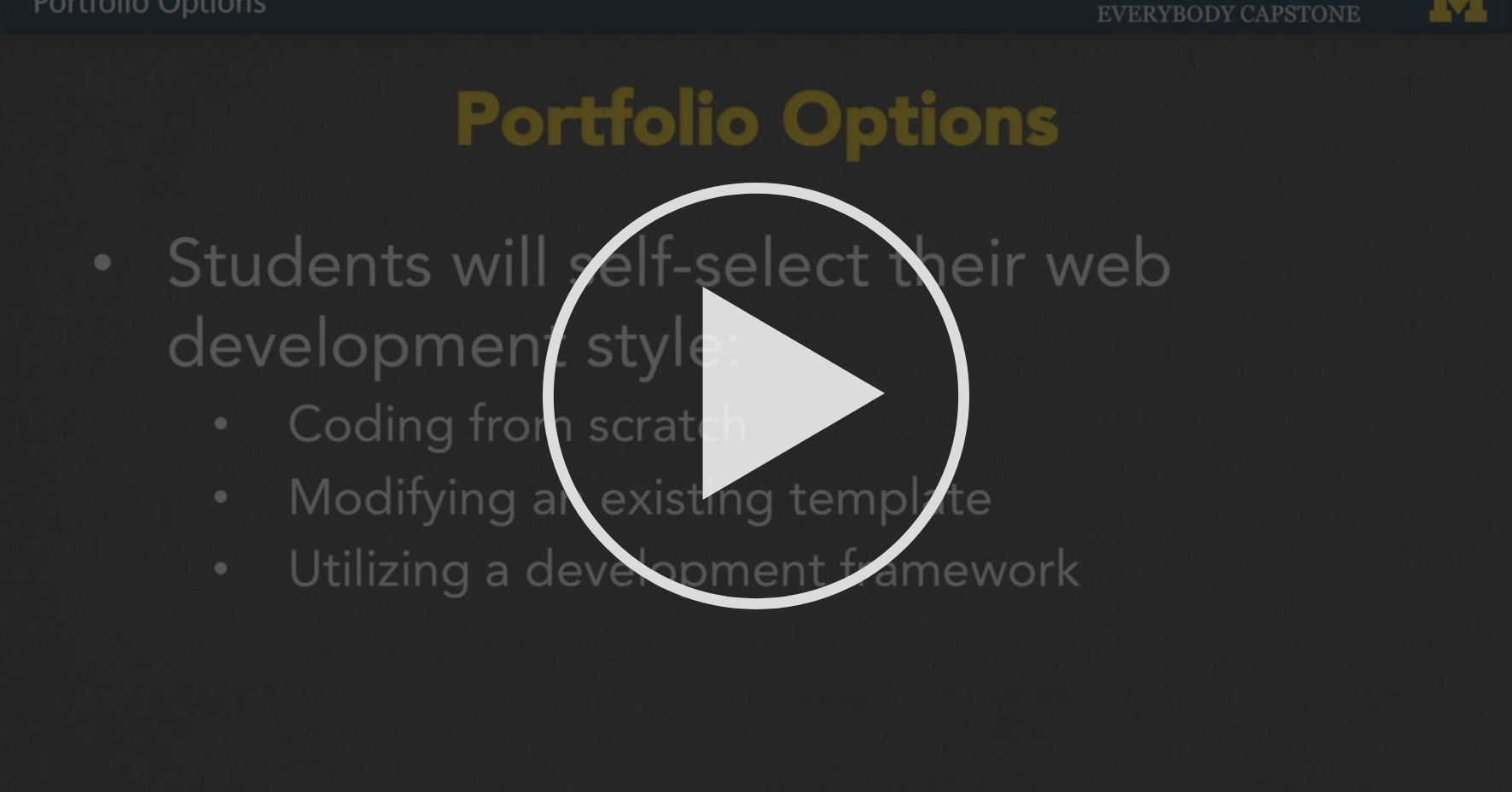 Portfolio Options Week One Introduction Coursera