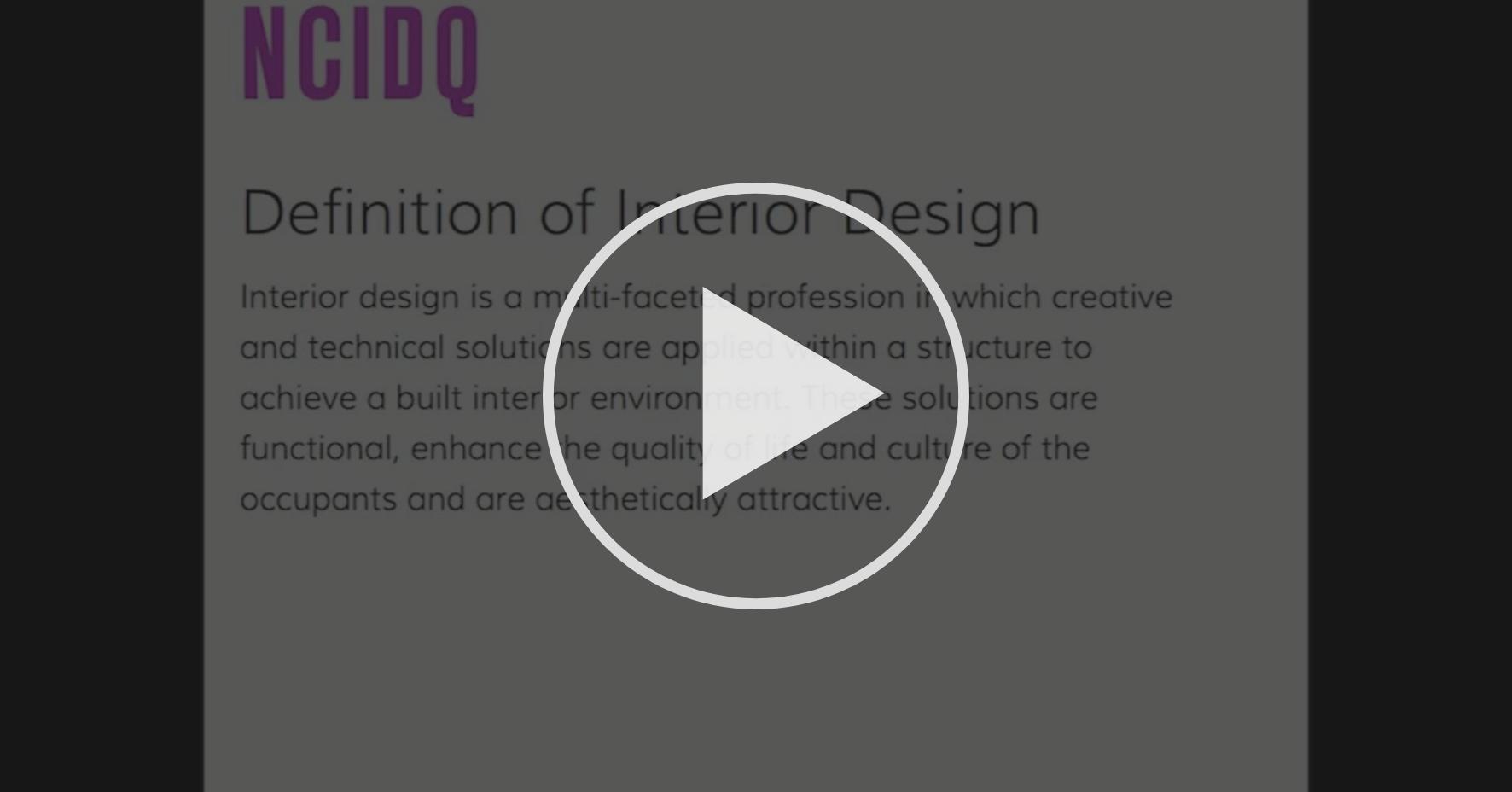 Video: Disciplinas de Diseño - Diseño de Interiores - Modulo: ¿Qué es el  proceso de diseño?   Coursera