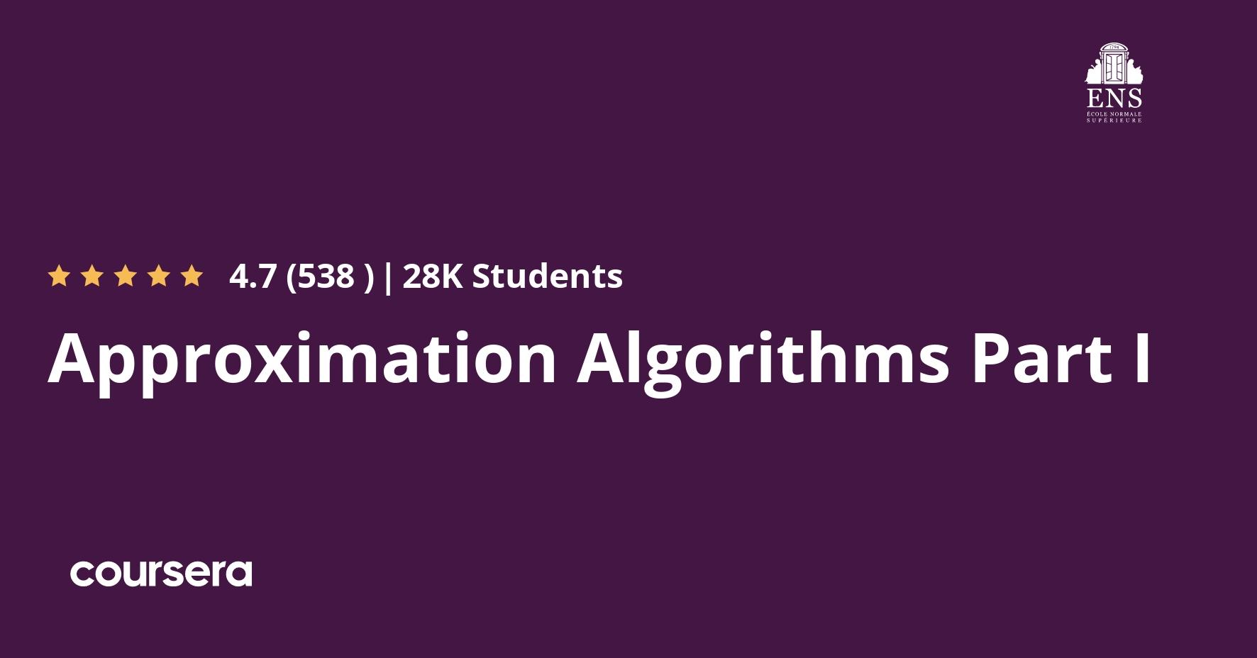 Algorithms, Part I (Coursera)
