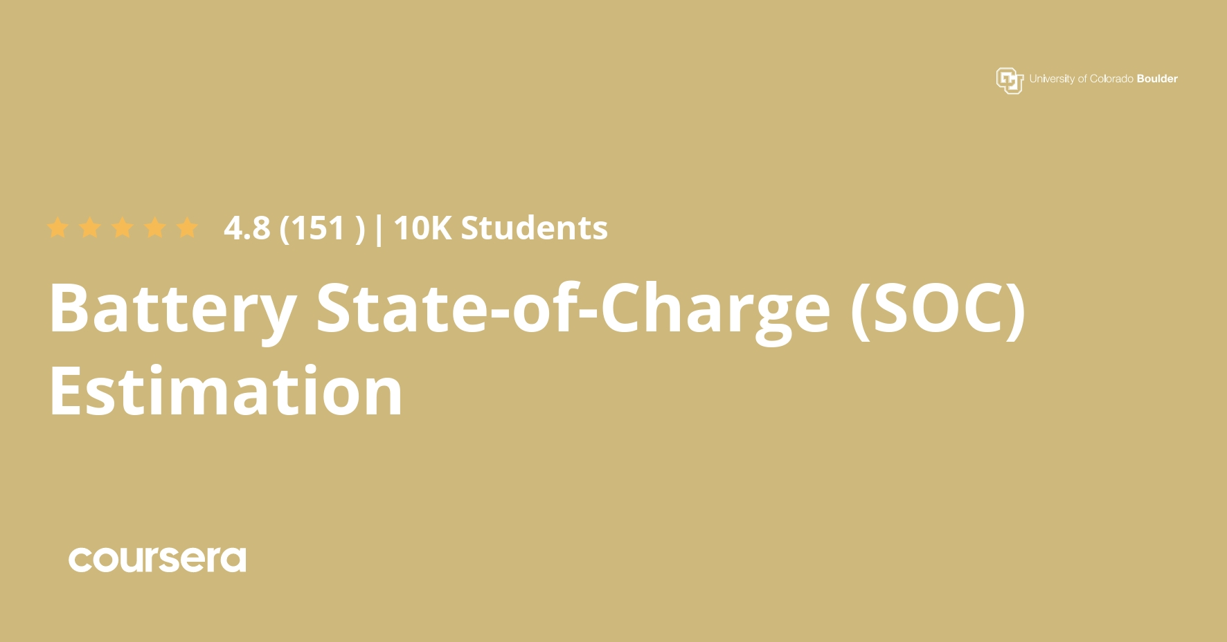 Battery State Of Charge Soc Estimation Coursera